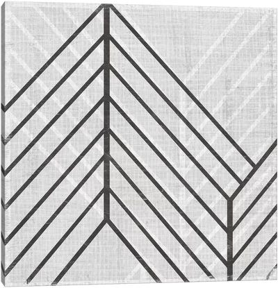 Diametric V Canvas Art Print