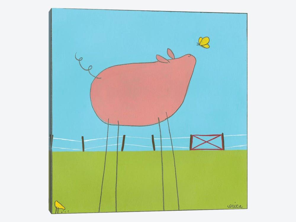 Pig I by June Erica Vess 1-piece Art Print