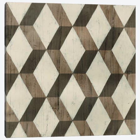 Driftwood Geometry I Canvas Print #JEV510} by June Erica Vess Canvas Art