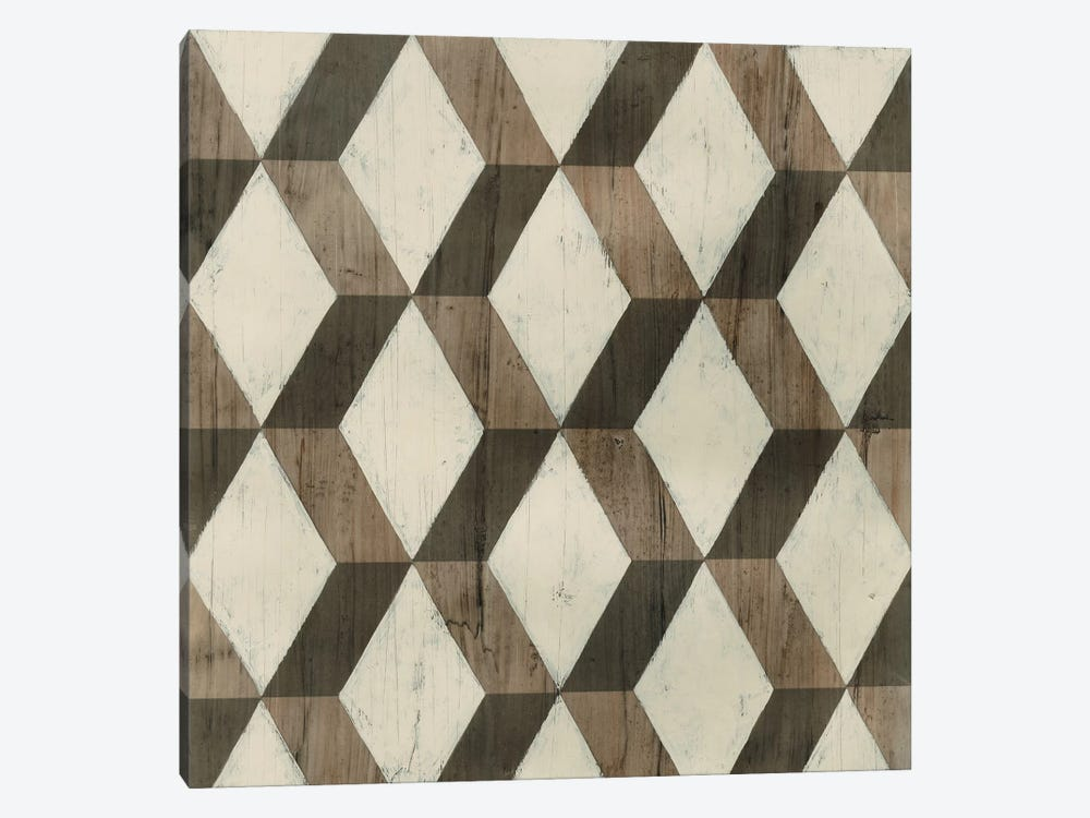 Driftwood Geometry I by June Erica Vess 1-piece Art Print