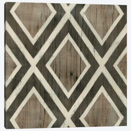 Driftwood Geometry II 3-Piece Canvas #JEV511} by June Erica Vess Canvas Wall Art