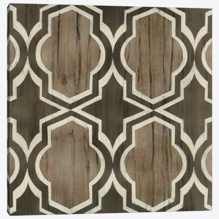 Driftwood Geometry V Canvas Print #JEV515} by June Erica Vess Art Print