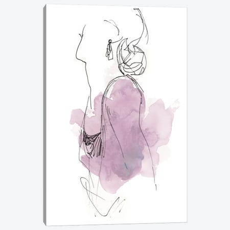 Fashion Splash I Canvas Print #JEV525} by June Erica Vess Canvas Wall Art