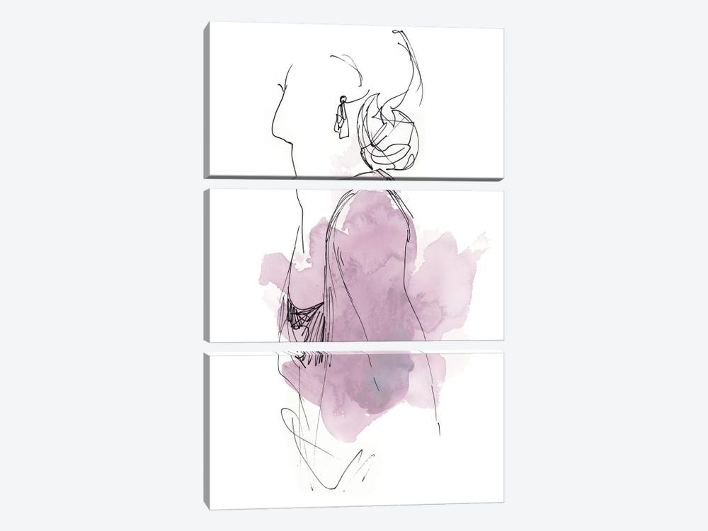Fashion Splash I by June Erica Vess 3-piece Art Print