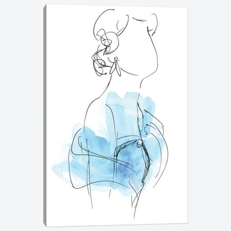 Fashion Splash II Canvas Print #JEV526} by June Erica Vess Canvas Art