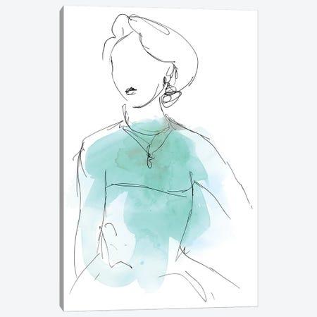 Fashion Splash IV Canvas Print #JEV528} by June Erica Vess Canvas Print