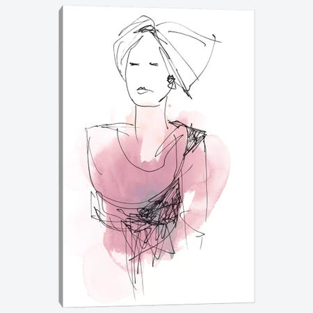 Fashion Splash V 3-Piece Canvas #JEV529} by June Erica Vess Canvas Print