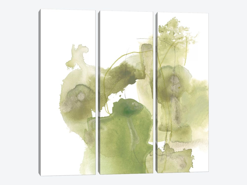 Foliose Gesture I by June Erica Vess 3-piece Canvas Artwork