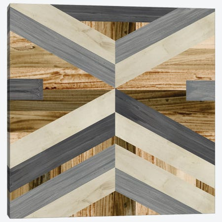 Geometric Inlay I Canvas Print #JEV541} by June Erica Vess Art Print