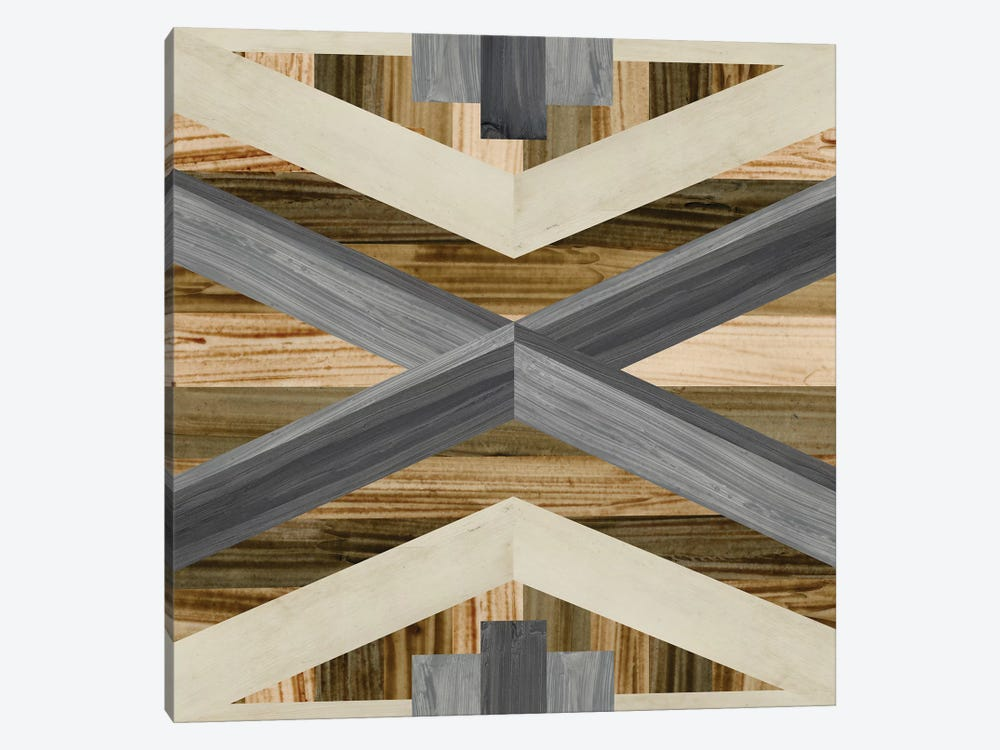 Geometric Inlay III 1-piece Canvas Art Print