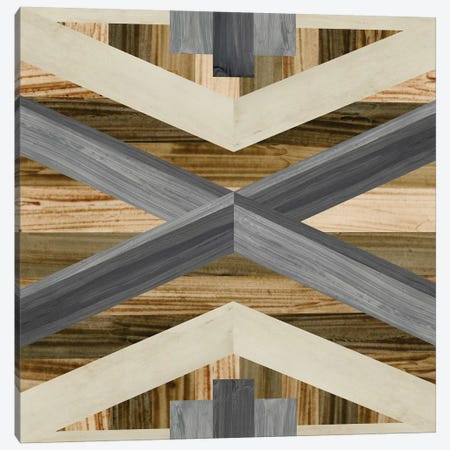 Geometric Inlay III 3-Piece Canvas #JEV543} by June Erica Vess Canvas Art Print