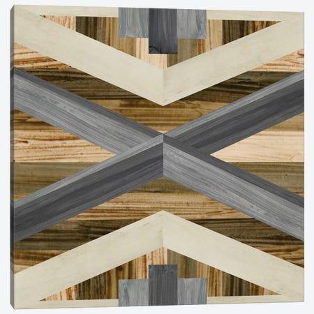Geometric Inlay III Canvas Print #JEV543} by June Erica Vess Canvas Art Print
