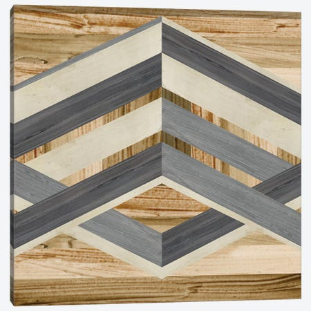Geometric Inlay IV Canvas Print #JEV544} by June Erica Vess Canvas Artwork
