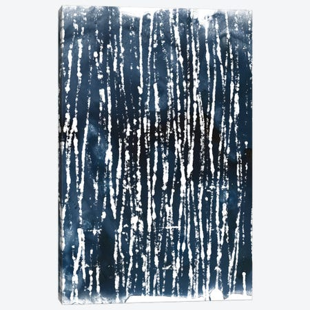 Indigo Ink Motif III Canvas Print #JEV551} by June Erica Vess Canvas Art