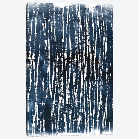 Indigo Ink Motif III Canvas Print #JEV551} by June Erica Vess Canvas Art