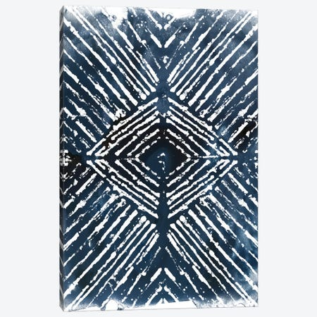 Indigo Ink Motif IV Canvas Print #JEV552} by June Erica Vess Canvas Wall Art