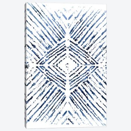 Indigo Ink Motif VI Canvas Print #JEV554} by June Erica Vess Canvas Print