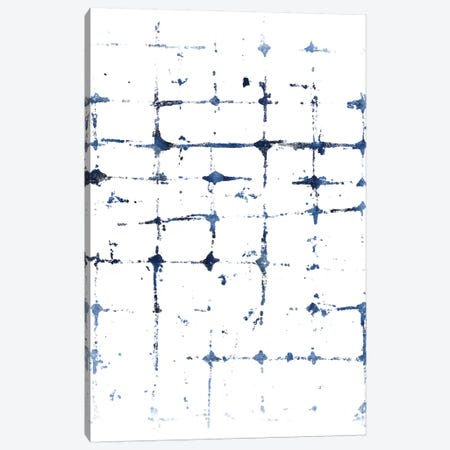 Indigo Ink Motif VII Canvas Print #JEV555} by June Erica Vess Canvas Print