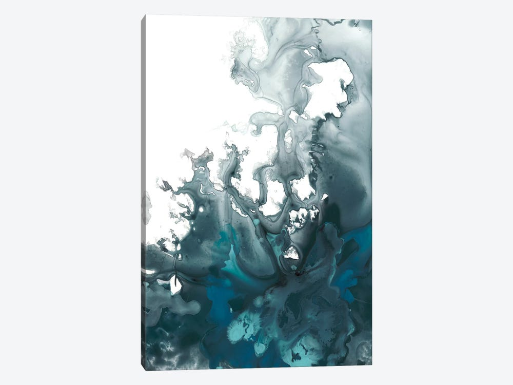 Indigo Tempest I 1-piece Canvas Wall Art