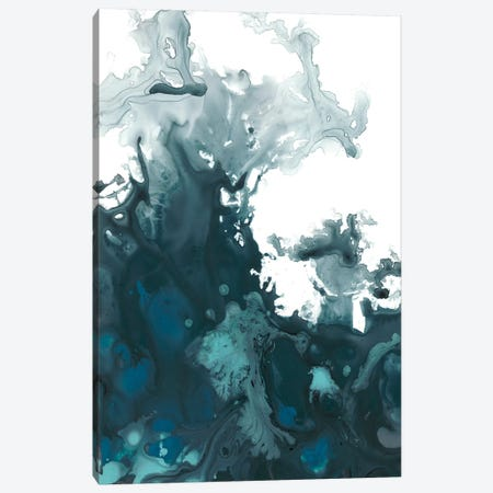 Indigo Tempest II Canvas Print #JEV558} by June Erica Vess Canvas Artwork