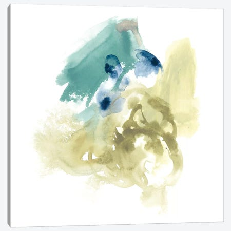 Integral Motion I Canvas Print #JEV559} by June Erica Vess Canvas Wall Art