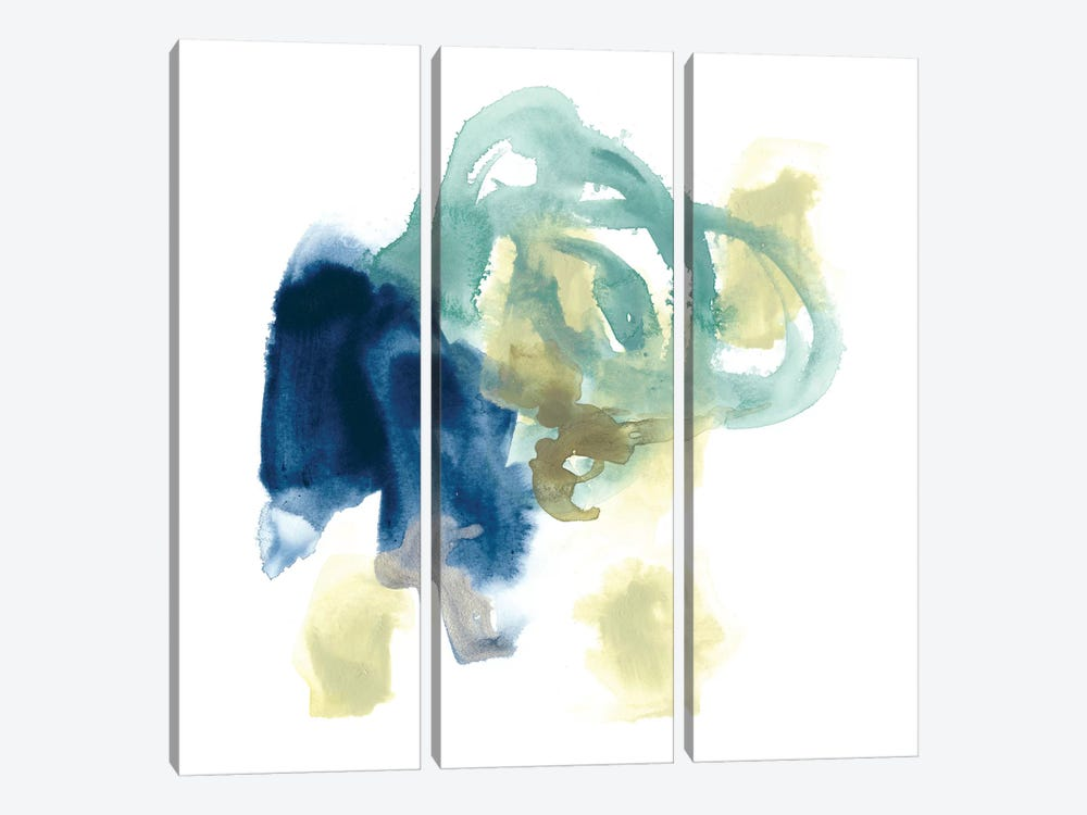 Integral Motion III by June Erica Vess 3-piece Canvas Art Print