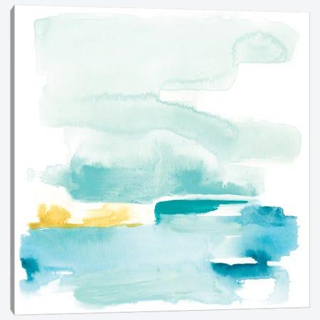 Liquid Shoreline II Canvas Print #JEV574} by June Erica Vess Canvas Print