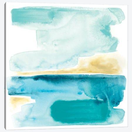 Liquid Shoreline III Canvas Print #JEV575} by June Erica Vess Canvas Print