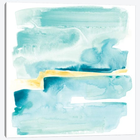 Liquid Shoreline IV Canvas Print #JEV576} by June Erica Vess Canvas Art Print