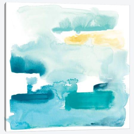 Liquid Shoreline IX Canvas Print #JEV577} by June Erica Vess Art Print