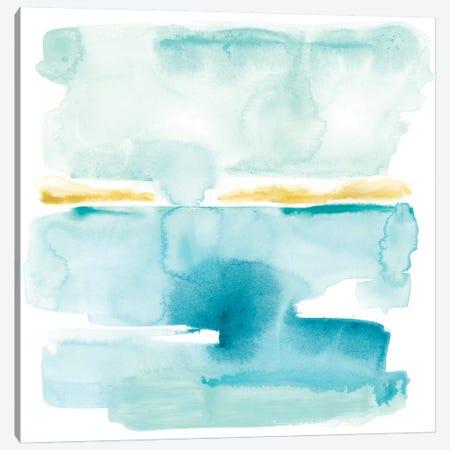 Liquid Shoreline VI Canvas Print #JEV579} by June Erica Vess Canvas Artwork