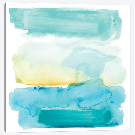Liquid Shoreline VIII Canvas Print #JEV581} by June Erica Vess Canvas Art Print
