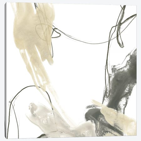 Monochrome Momentum II Canvas Print #JEV587} by June Erica Vess Canvas Artwork