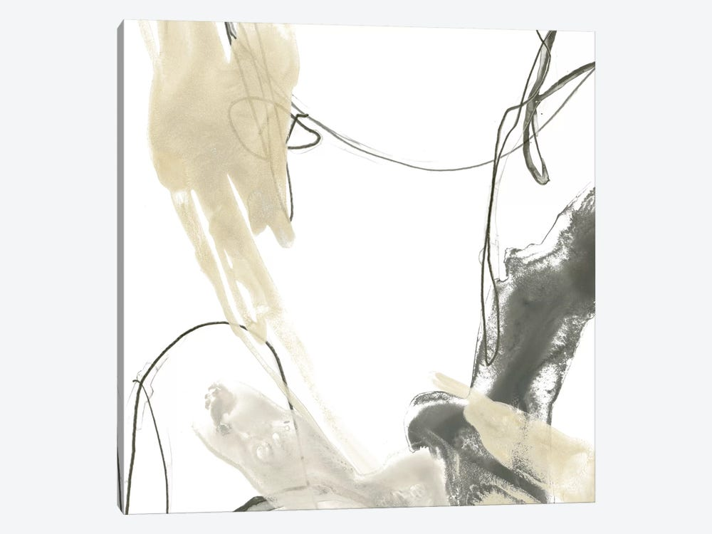 Monochrome Momentum II by June Erica Vess 1-piece Canvas Print