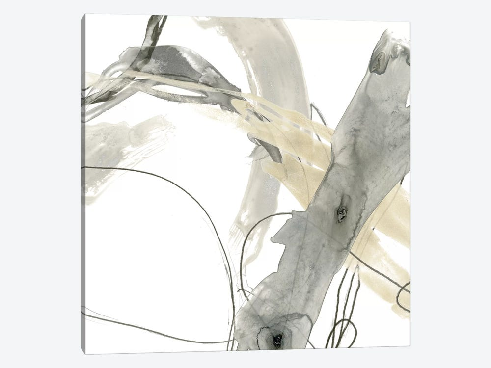 Monochrome Momentum III by June Erica Vess 1-piece Canvas Artwork