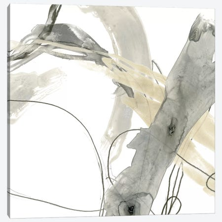 Monochrome Momentum III Canvas Print #JEV588} by June Erica Vess Art Print