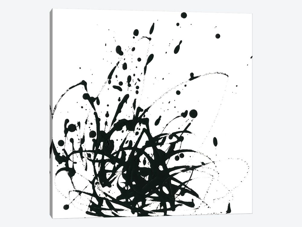 Onyx Expression I by June Erica Vess 1-piece Canvas Artwork