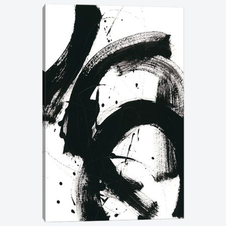 Onyx Gesture II Canvas Print #JEV602} by June Erica Vess Canvas Art
