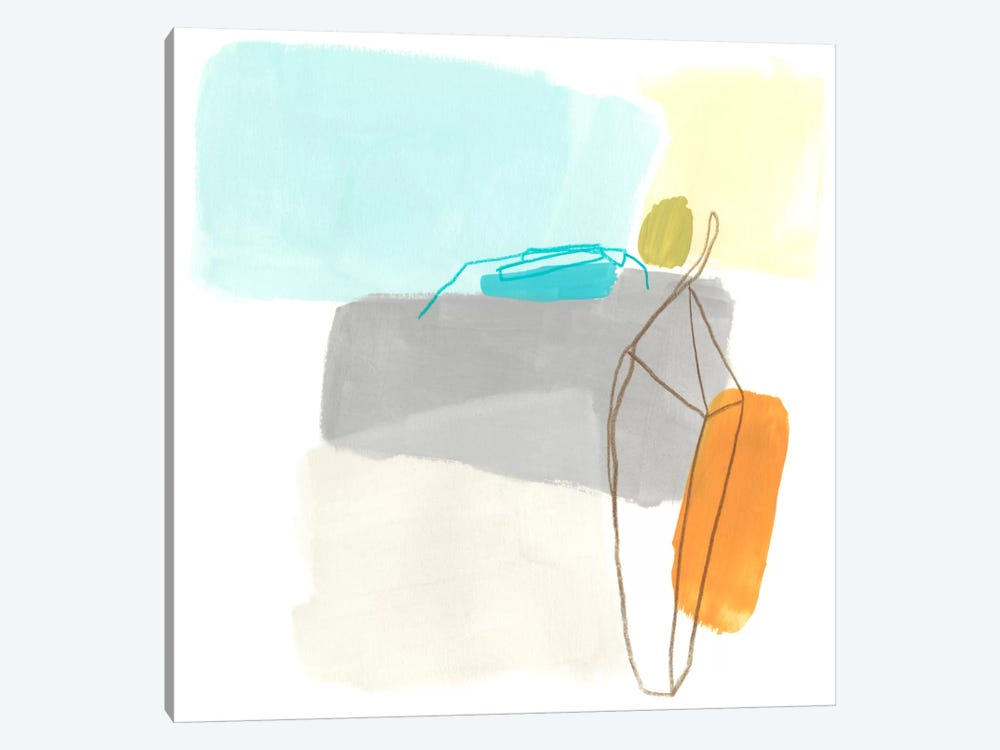 Adagio III by June Erica Vess 1-piece Canvas Artwork