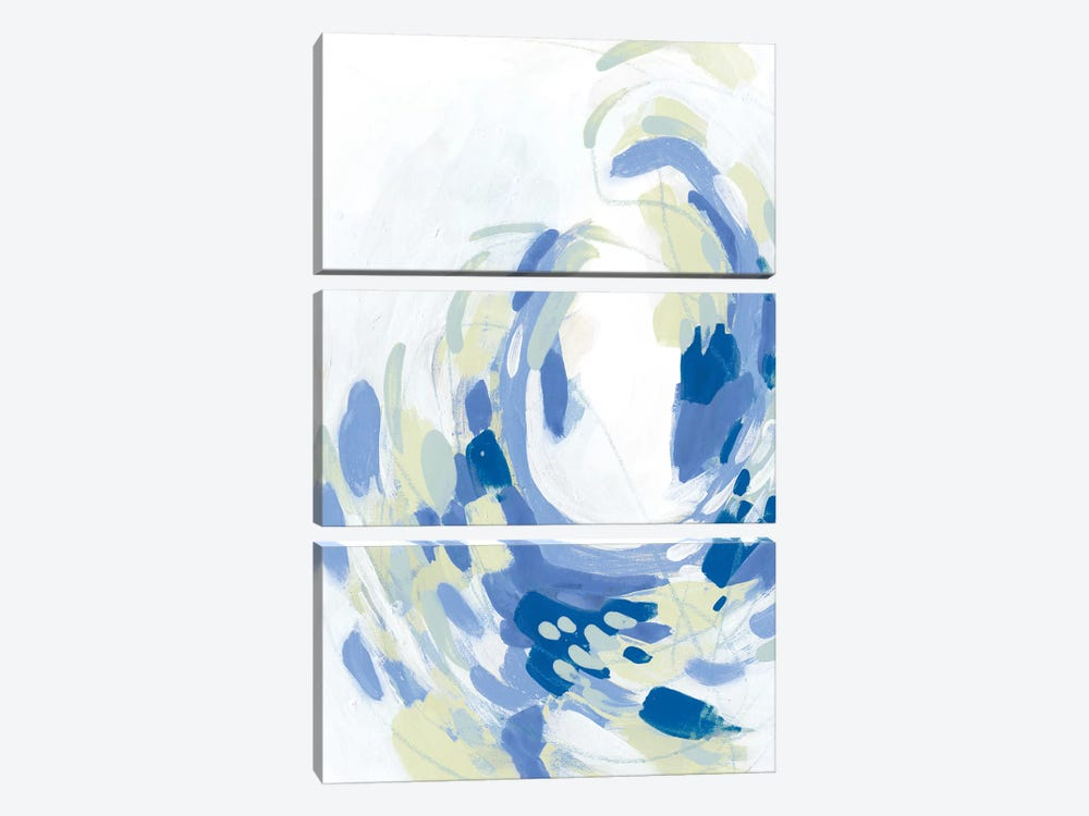 Sargasso I by June Erica Vess 3-piece Canvas Print