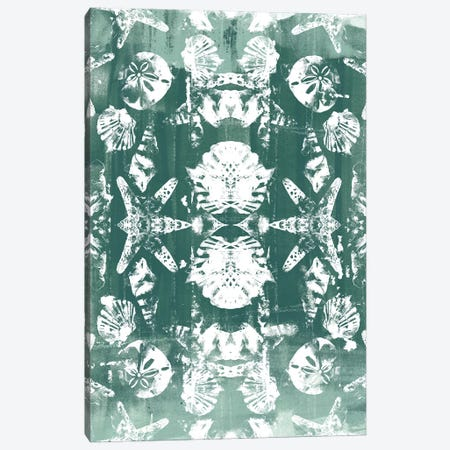 Sea Green Kaleidoscope II Canvas Print #JEV628} by June Erica Vess Canvas Wall Art