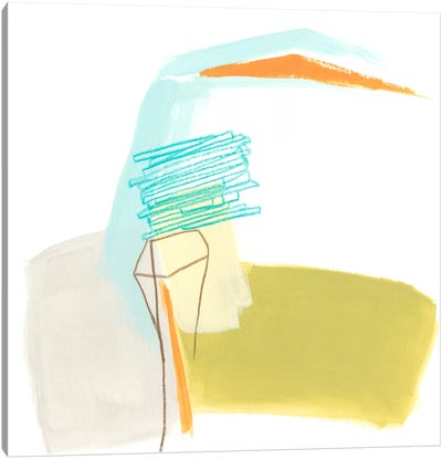 Adagio V Canvas Print #JEV62