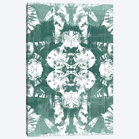 Sea Green Kaleidoscope IV 3-Piece Canvas #JEV630} by June Erica Vess Art Print