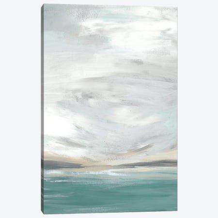 Seafoam Vista I Canvas Print #JEV631} by June Erica Vess Canvas Print