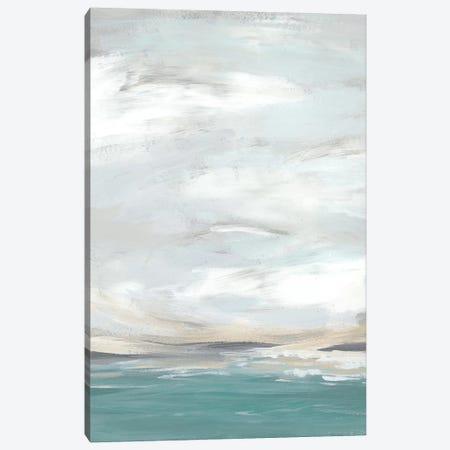 Seafoam Vista II Canvas Print #JEV632} by June Erica Vess Art Print
