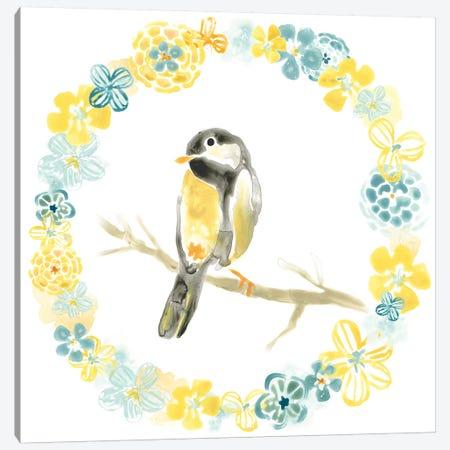 Solo Songbird II Canvas Print #JEV636} by June Erica Vess Canvas Art
