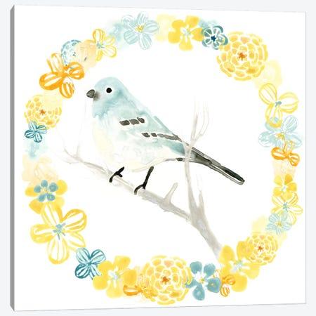 Solo Songbird III Canvas Print #JEV637} by June Erica Vess Canvas Art