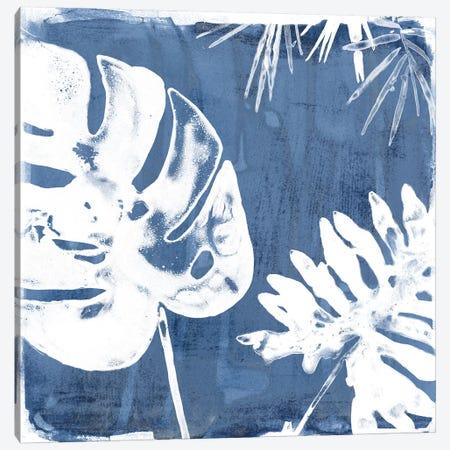 Tropical Indigo Impressions I 3-Piece Canvas #JEV663} by June Erica Vess Canvas Artwork