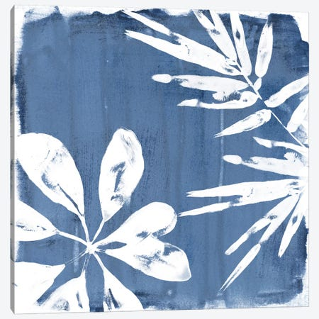 Tropical Indigo Impressions III Canvas Print #JEV665} by June Erica Vess Art Print