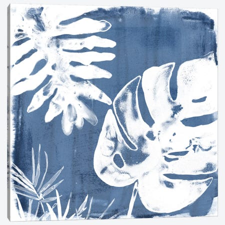 Tropical Indigo Impressions IV Canvas Print #JEV666} by June Erica Vess Canvas Print